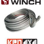 Carbon Winch 17000lb replacement steel cable