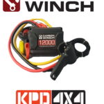 Carbon Winch 24 volt control box complete with wireless controller