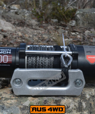 Carbon Winch 4500lb ATV Trailer with Synthetic Rope and Wireless Control