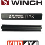 Carbon Winch 9500lb Tie Bar with Logo