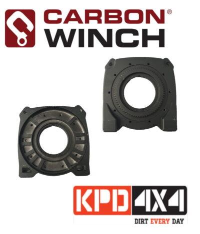 Carbon Winch lowmount winch gearbox side drum endplate