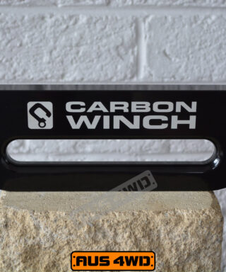 Carbon Winches Australia 20mm multi-fit Fairlead Black Anodised
