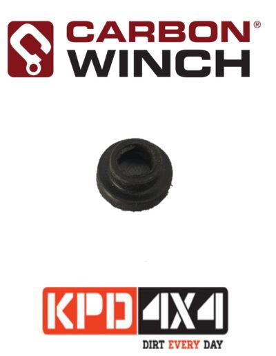 Carbon Winch Motor Terminal hard plastic bushing replacement Black