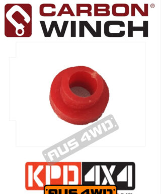 Carbon Winch Motor Terminal hard plastic bushing replacement Red