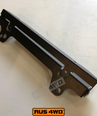 Carbon Winch lift up number plate bracket