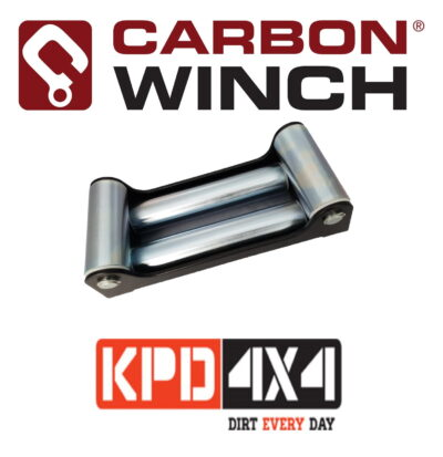 Carbon Winch Roller Fairlead for steel cable