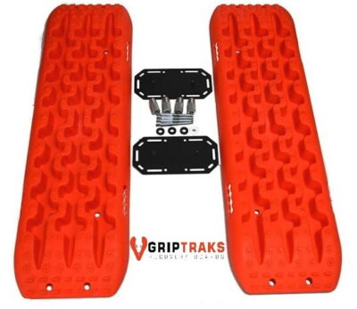 Griptraks Recovery Tracks with mounting kit 4x4 Mud Sand