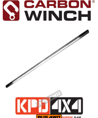 Carbon Winch 9500lb replacement winch drive shaft 343mm
