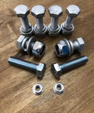 Carbon Winch Mounting Bolt Kit