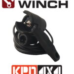 Carbon Winches Wired Remote Control suits CW-95, CW-12k & CW-17