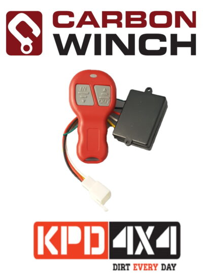 Carbon Winches Wireless Remote Control kit 24V