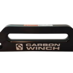 Carbon Winches Australia 20mm Offset Hawse Fairlead Black Anodised