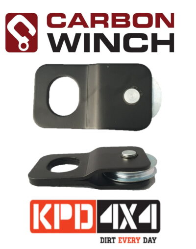 Carbon Winches 4 Ton snatch block pulley for ATV winch