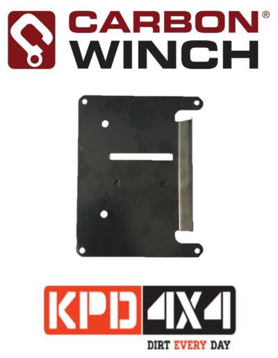 Carbon Winch Control Box Base Plate Kit
