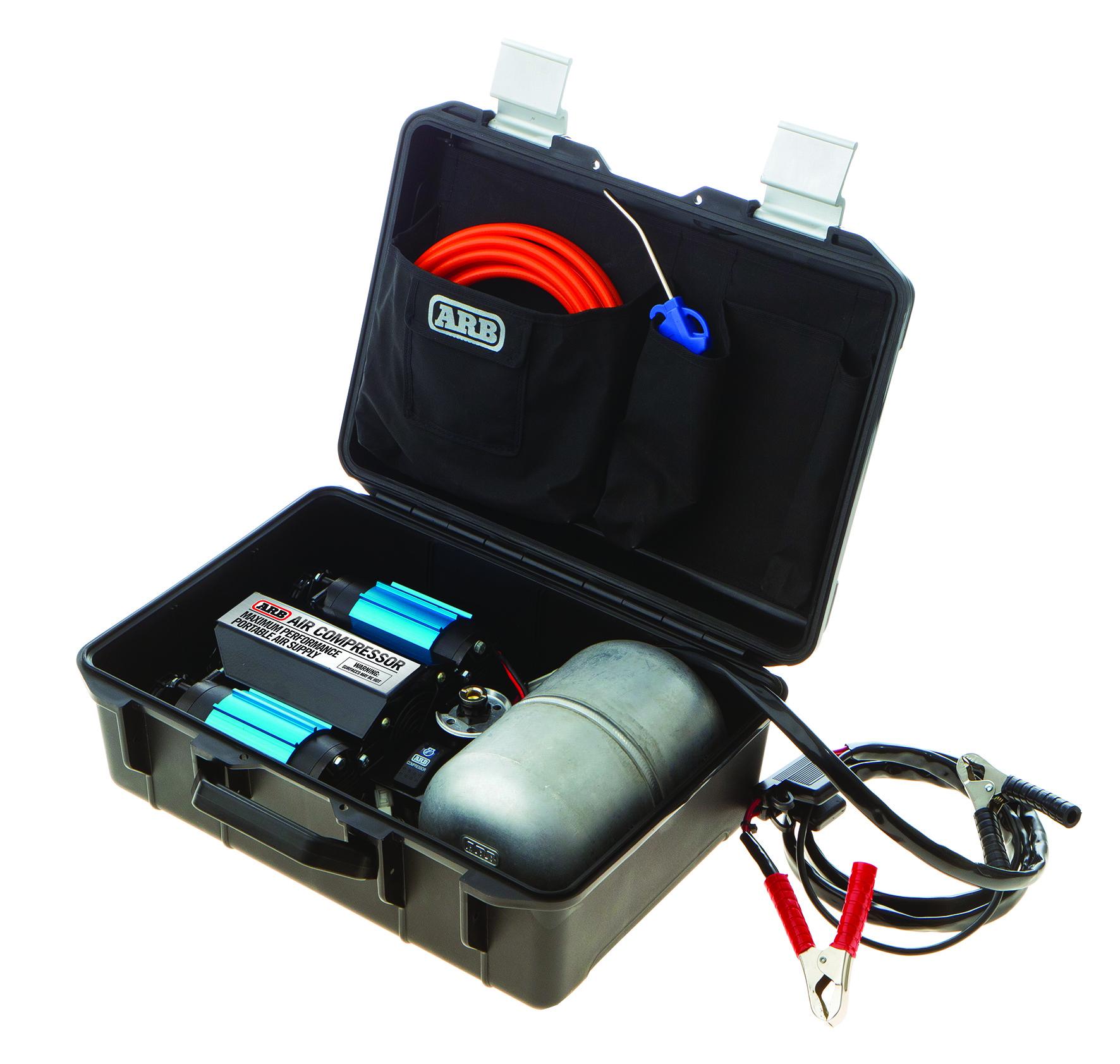 ARB Air Compressor Kit, Twin Portable 40V   CKMTP40